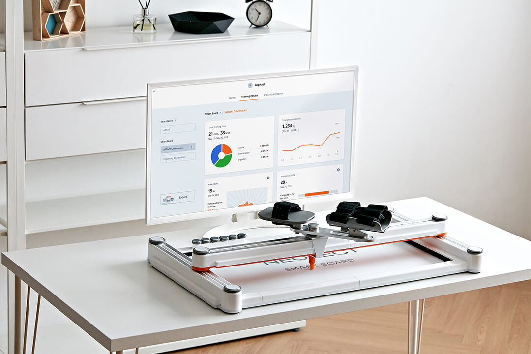 "Smart Board for Home ""NextGen️"" for Arm and Shoulder Exercise for Stroke Patients"